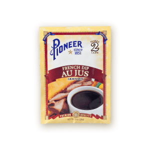 french dip au jus gravy mix 1oz pioneer