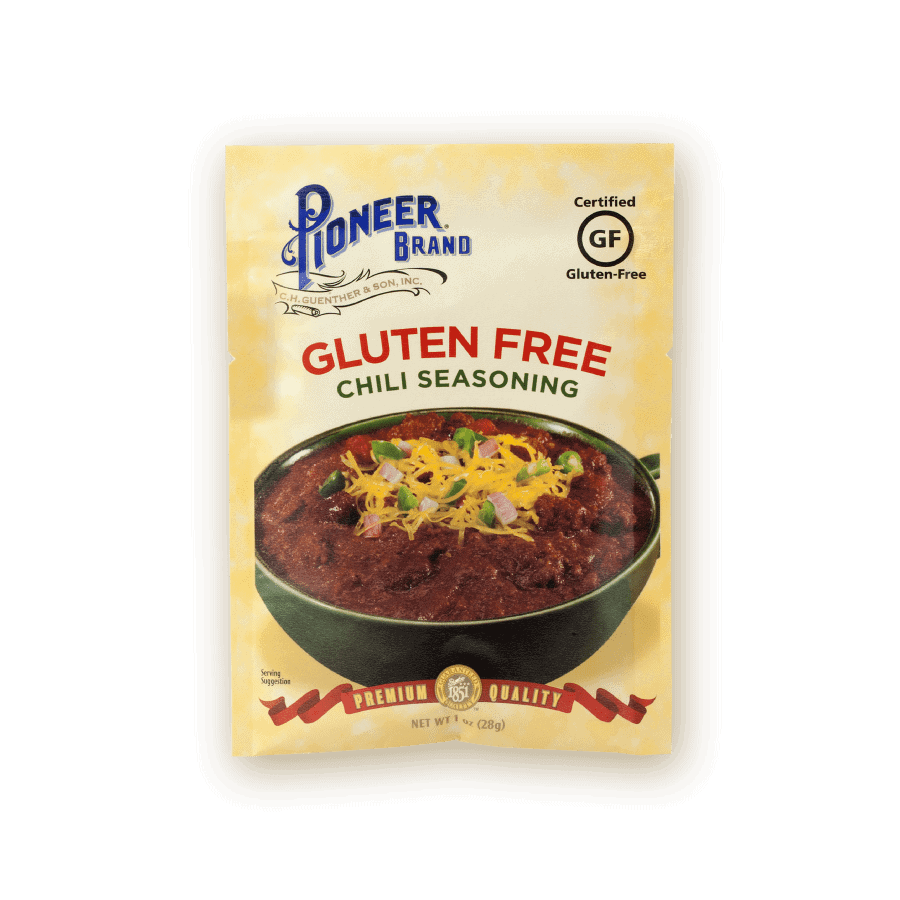 gluten free chili seasoning pioneer