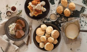 gravy meat biscuits and many other mixes