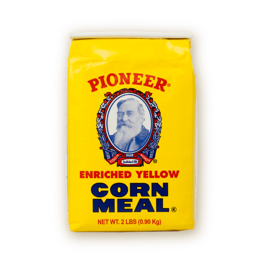 pioneer enriched yellow corn meal packaging