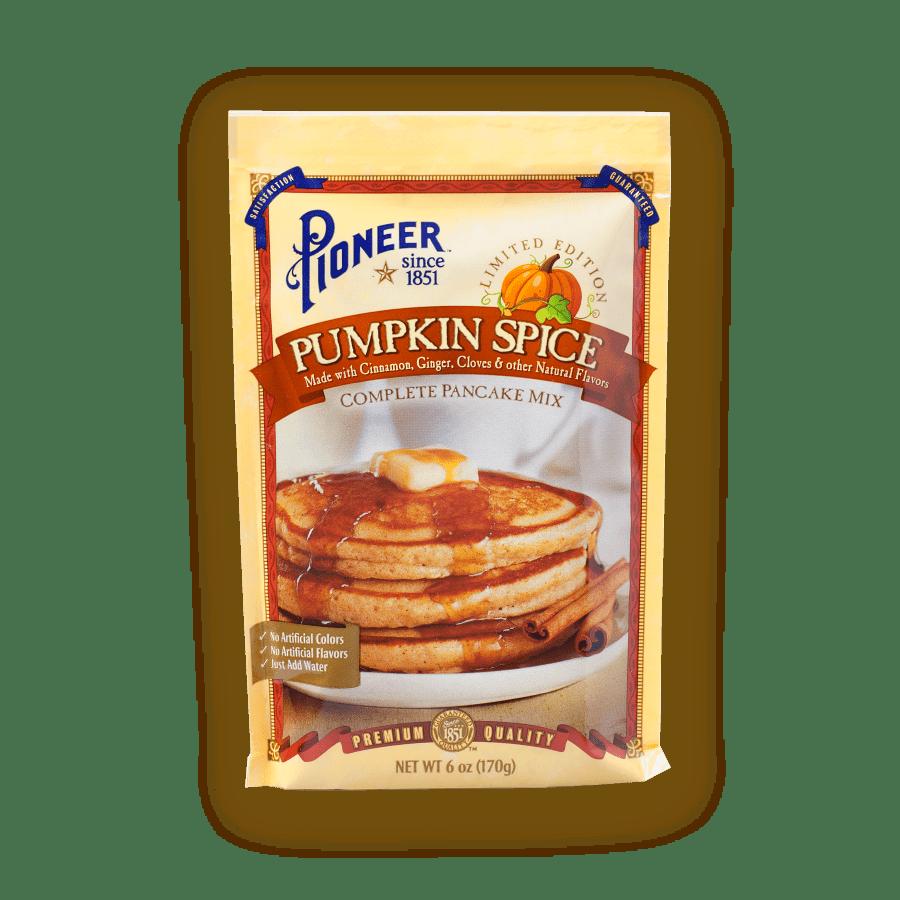 pumkin spice complete pancake mix