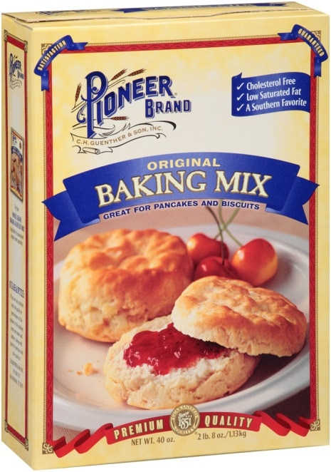 original baking mix great for pancakes and biscuits cover photo