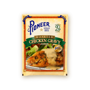 roasted chicken gravy pioneer packaging