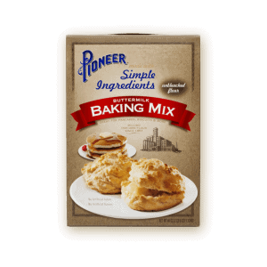 pioneer simple ingredients buttermilk making mix