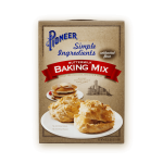 Simple ingredients buttermilk baking mix packaging