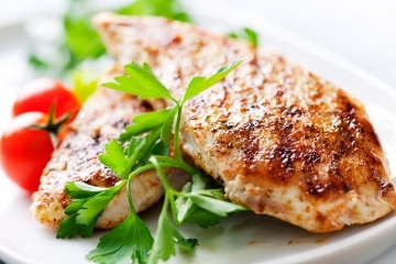 Gluten free fiesta marinated chicken