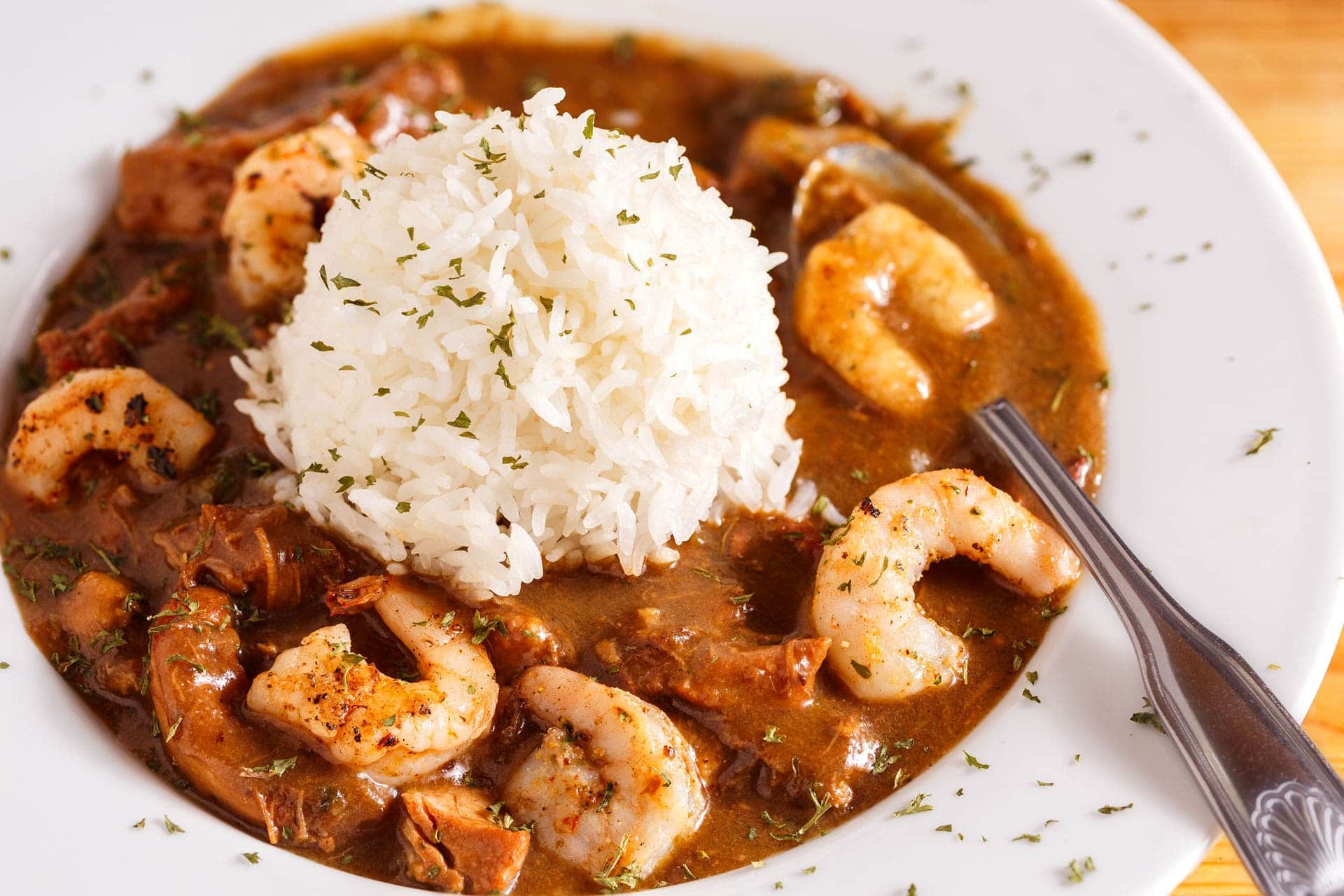 Easy Low-Fat Seafood Gumbo