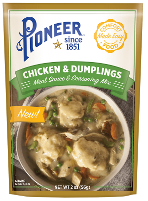 Chicken and Dumplings Packaging