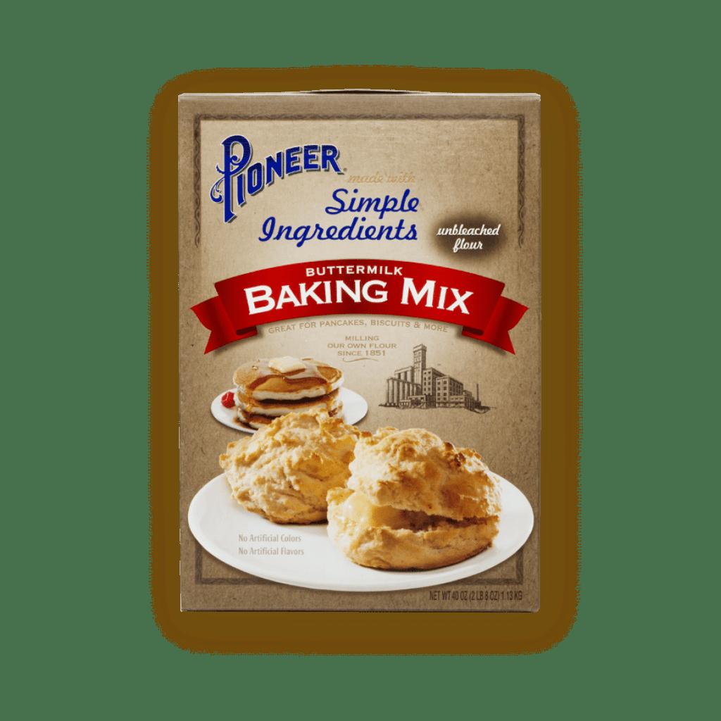 40oz PIONEER BUTTERMILK BISCUIT & BAKING MIX SIMPLE INGREDIENTS
