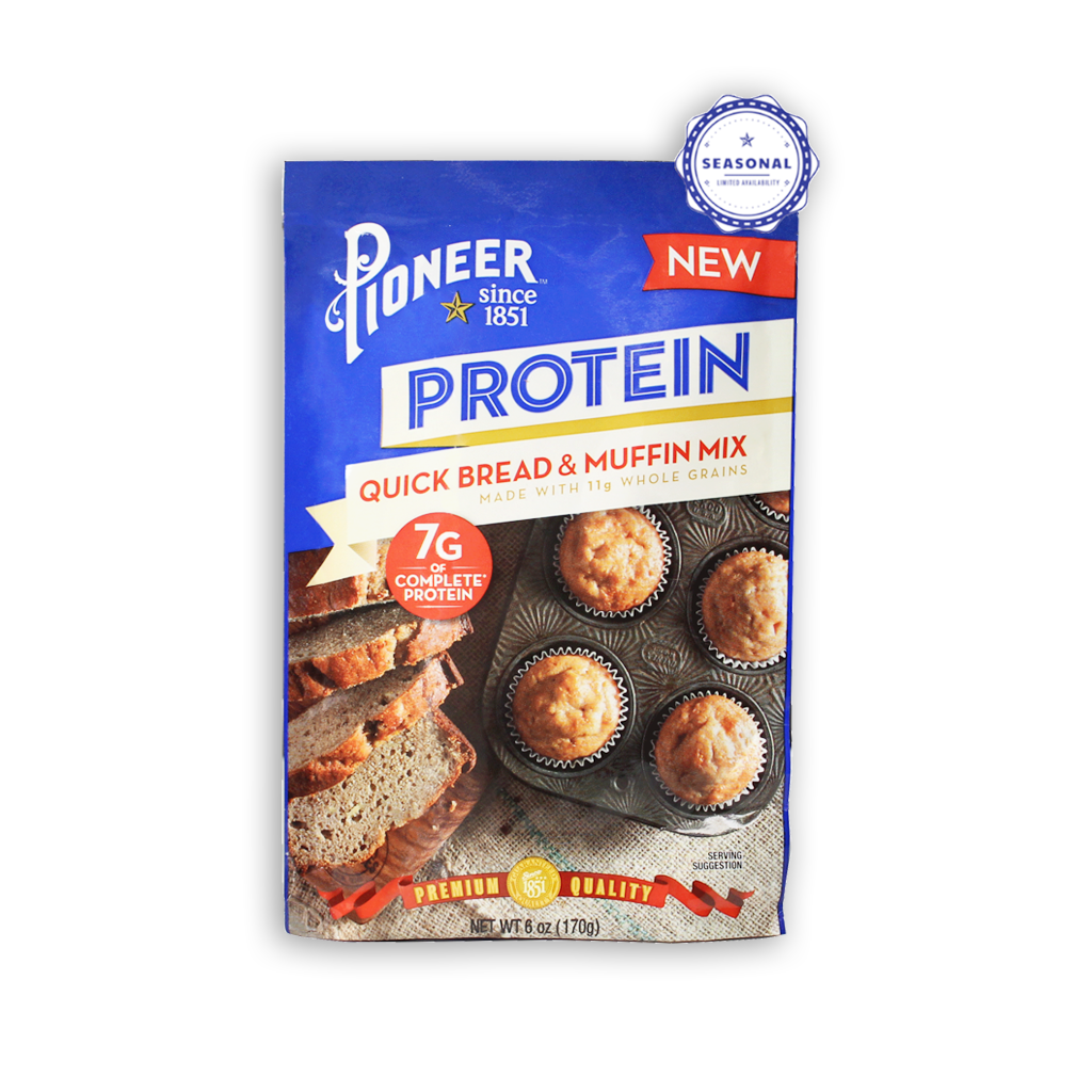 PIONEER PROTEIN QUICK BREAD & MUFFIN MIX