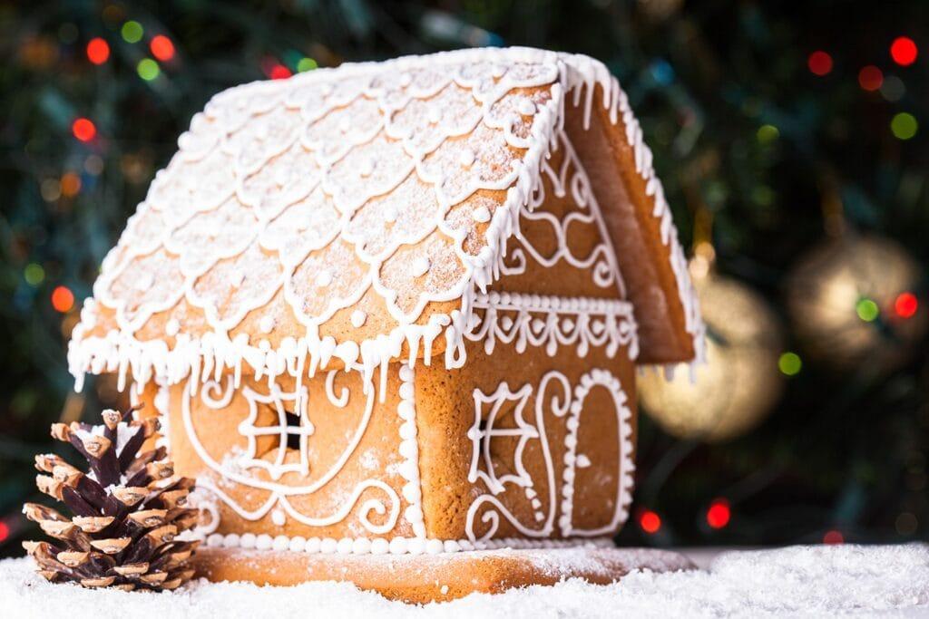 Pioneer Gingerbread House